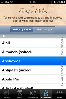 Wine Navigator® 'Match Food to Wine'